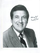 Monty Hall Hand Signed Photo....''Lets Make A Deal''
