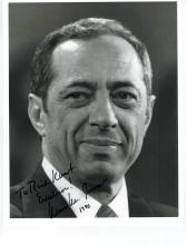 Mario Cuomo Hand Signed Autographed Photo....Governor of N.Y.
