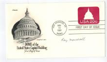 Ray Marshall Hand Signed First Day Cover...Carter's Secretary of Labor.