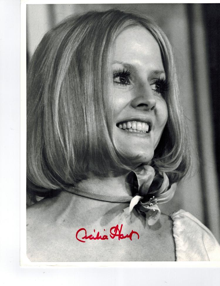 Cecilia Hart Autographed Photo..... Born February 19, 1948)