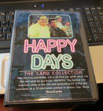 Happy Days Card Collection with Henry Winkler Autographed Insert Card