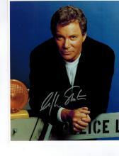 William Shatner Autographed Photo