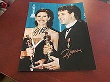 Julia Roberts and Russell Crowe Autographed Photo