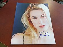 Alona Tal Autographed Color Photo..... Israeli American singer and actress.