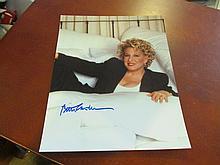 Bette Midler Autographed Photo