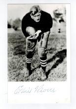 Ernie Nevers Hand Signed Postcard Photo.....Football HOF.