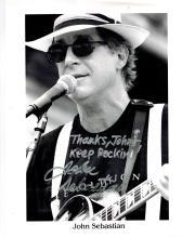 John Sebastian Autographed Photo