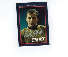 William Shatner Autographed Card