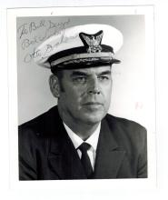 Otto Graham Autographed Naval Photo