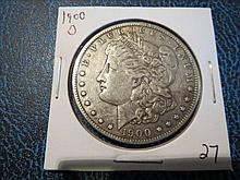 1900o Morgan Silver Dollar