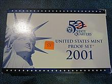 2001S US Mint Set - Proof