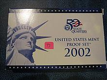 2002 US Mint Set - Proof