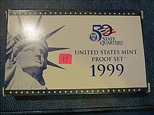 1999 US Mint Set