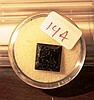 5.10CT Jet Black Diamond  Moissanite Princess Cut 10.97mmX5.72mmX10.59MM