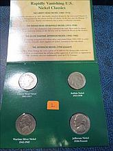 American Nickels of the 21st Century: 1901, 1929s, 1943s silver & 1968S
