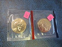 2000 P & D Sacagawea Dollar - UNC