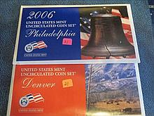 2006 P & D US Mint Set