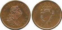 COINS, EUROPEAN TERRITORIES, IRELAND George III