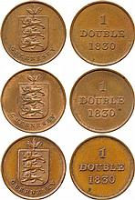 COINS, CHANNEL ISLANDS, GUERNSEY William IV