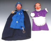 GL Policeman for Punch and Judy - Pelham Puppets Glove GL Range, with  moul