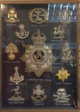 Militaria - cap badges - 3rd Lanarkshire Rifle Volunteers, The Witshire Reg