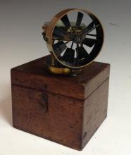An early 20th century Anemometer, by Short & Mason, No. 1160, 5.4cm silvere
