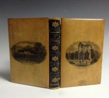 A Victorian Mauchline Ware book, The Lady of the Lake by Sir Walter Scott,
