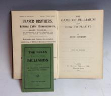 Billiards - Roberts (John), The Game of Billiards And How To Play It, C. Ar
