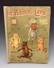 In Animal Land with Louis Wain, S.W. Patridge & Co., London 1904, 4to, 52pp