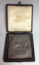 Photography - a George V award medal, The Amateur Photographer, named to W