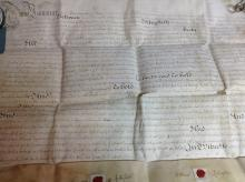 A George I/II indenture 27 th May 1724 and later