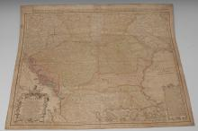 Johann Matthias Haas (1684-1742), after, a two-fold map, Carte d' Hongrie [