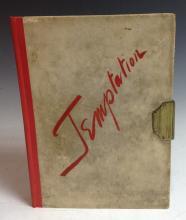 Tresahar (John), Temptation and Other Dramatic Fragments, With Illustration