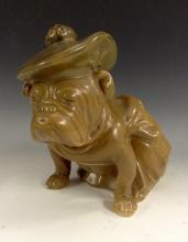 A Royal Doulton model, of a Bullldog, wearing a tam o'shanter and a kilt, k