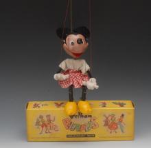 SL Minnie Mouse, Walt Disney character - Pelham Puppets SL Range, moulded h
