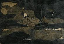 Anthony Benjamin (1931-2002)Black Landscape 1958,