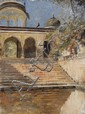 Edwin Lord Weeks - 'Stairway, India'