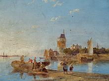 Pieter Dommersen - Hoorn on the Zuiderzee Holland