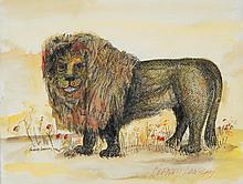 Bernard Langlais - Lion