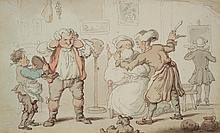 Thomas Rowlandson - The Barber