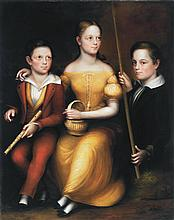 George Markham - Three Siblings