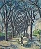 Henry Ernest Schnakenberg - The Avenue (Fifth Avenue, New York)