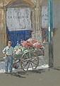 Abbott Graves - The Flower Vendor