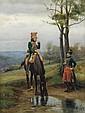 Jean-Jacques Berne-Bellecour - Cavalry Soldiers