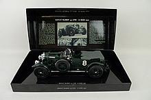A Minichamps model of a Bentley 'Blower' 4.5litre Le Mans 19