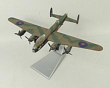 A Corgi Aviation Archive model of an Avro Lancaster NX811 B