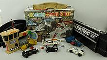 A Scalextric Grand Prix 8 Model Motor Racing with High Speed