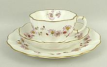 A Royal Crown Derby porcelain part tea service, circa 1893,