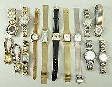 A collection of lady's watches comprising a Rotary watch, Or