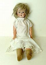 A Simon & Halbig bisque head doll, no 1909 5 1/2,
